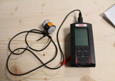 Le solarimètre permet de mesurer localement les données de rayonnement reçu sur le bâtiment dans les études que nous réalisons pour vous.